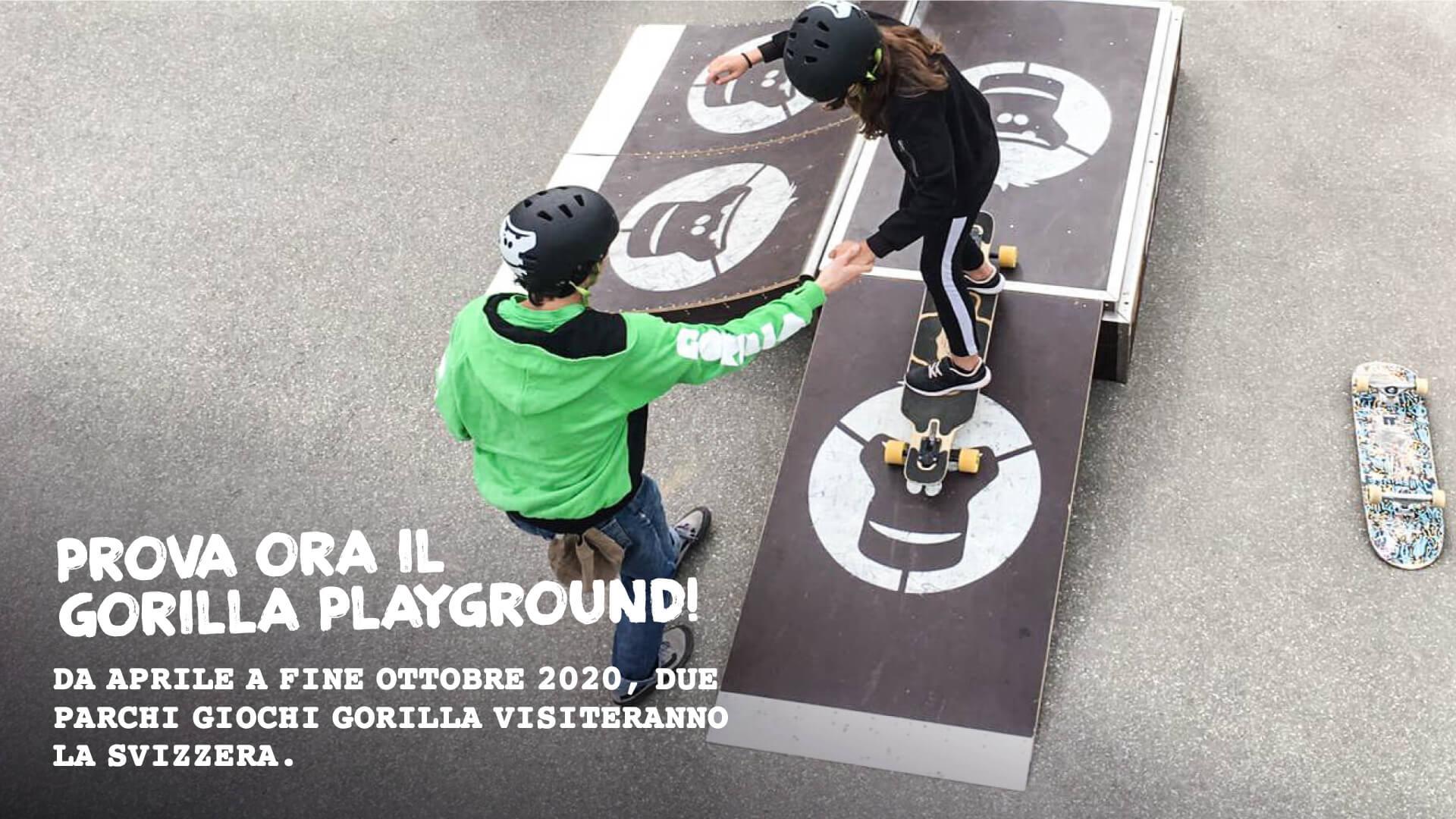 Prova ora il GORILLA Playground